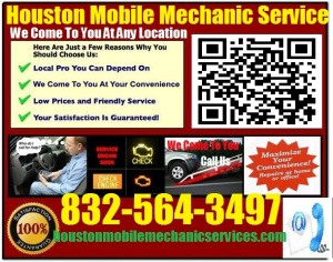Mobile Mechanic Houston Texas Auto Car Repair Service shop on wheels