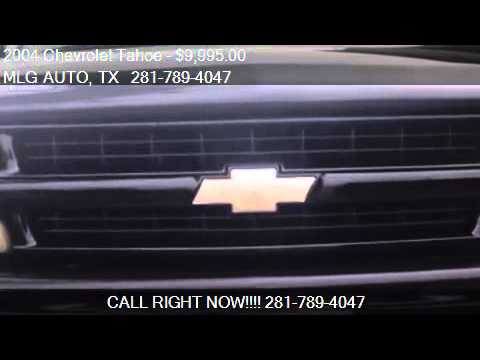 2004 Chevrolet Tahoe 4WD – for sale in Pinehurst, TX 77362