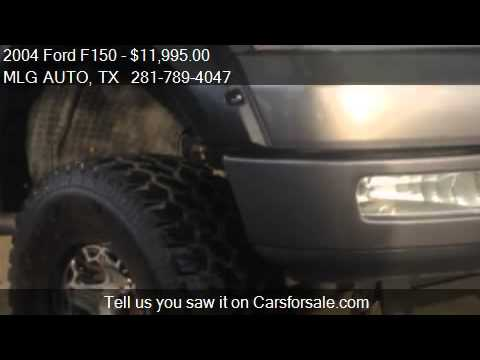 2004 Ford F150 FX4 SuperCab 4WD – for sale in Pinehurst, TX