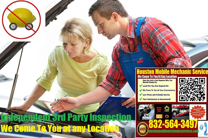 Pre Purchase Car Inspection Houston Mobile Auto Mechanic Service